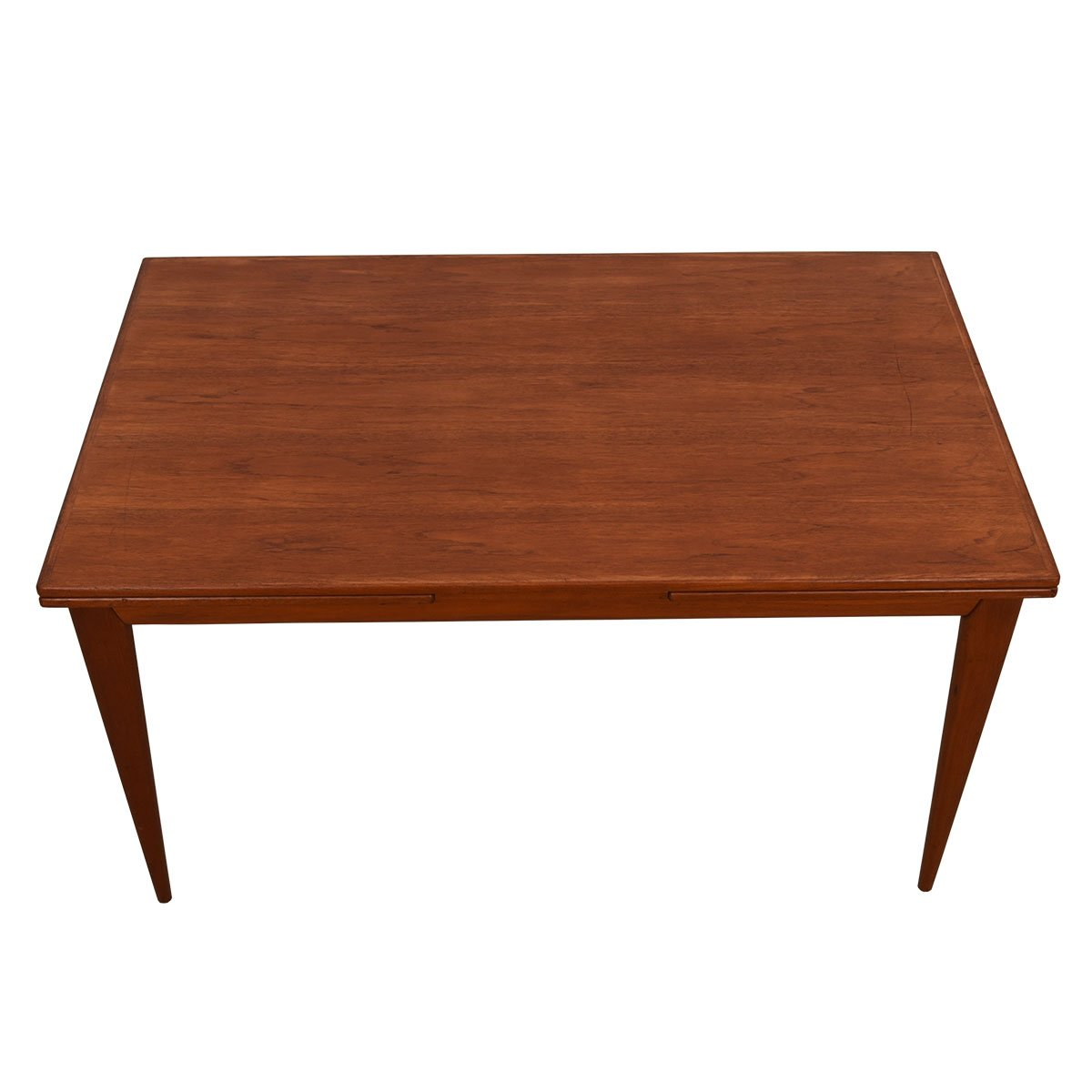 Danish Modern Large Teak Dining Table