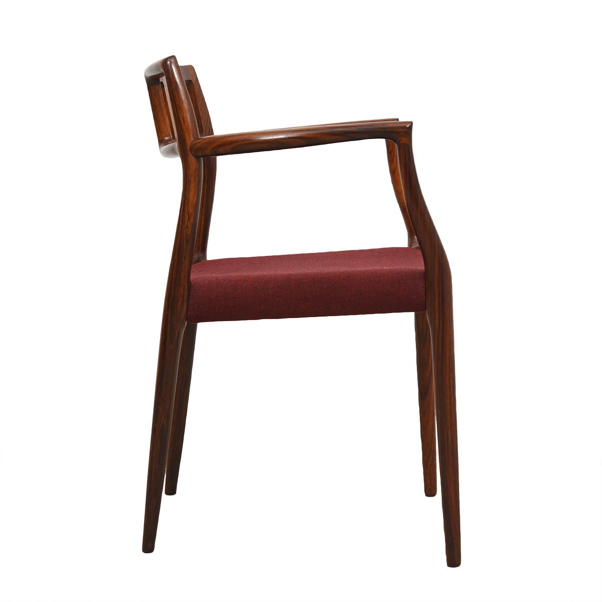 Set of 6 Danish Rosewood #64 / #79 Niels Moller Dining Chairs
