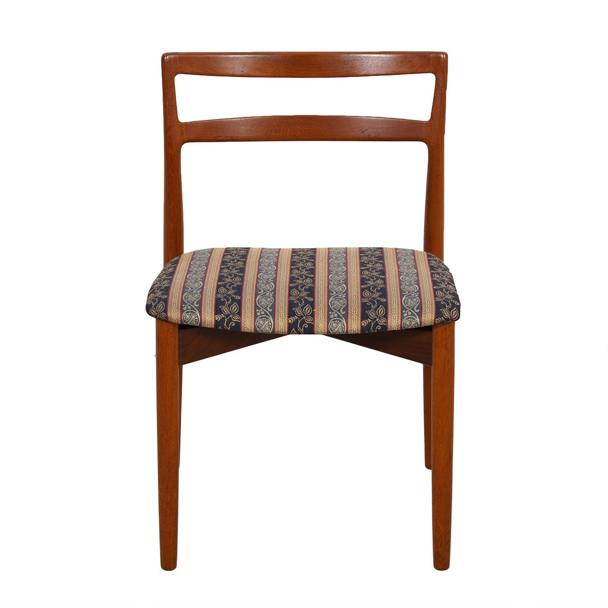 Set of 6 Harry Ostergaard for Randers Danish Teak Dining Chairs