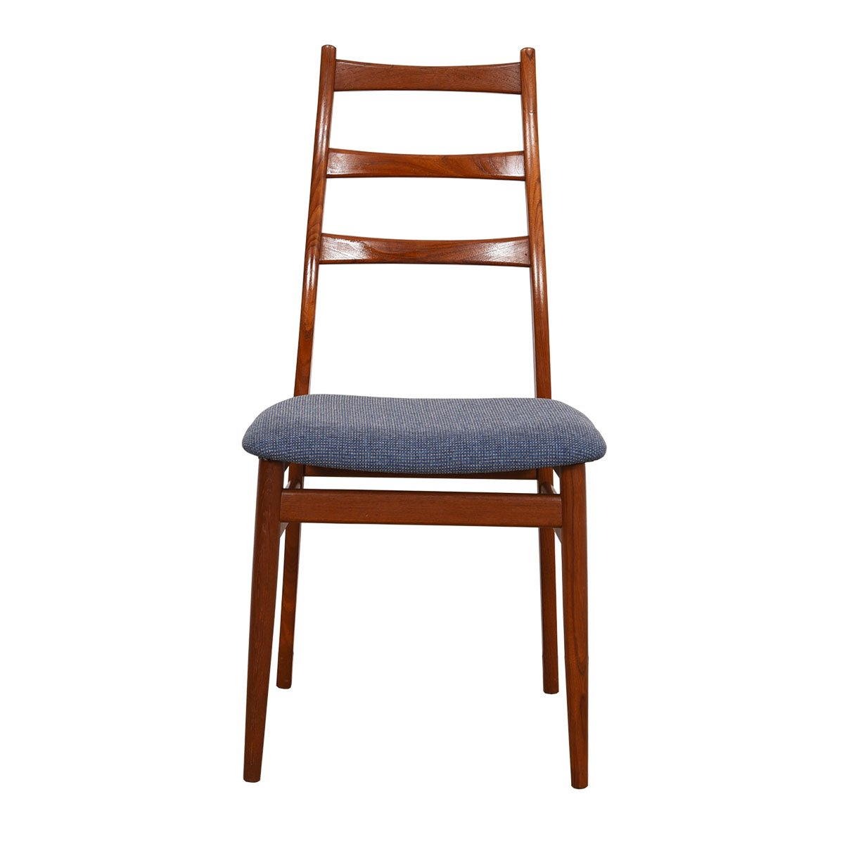 Set of 6 Danish Modern Dining Chairs in Teak
