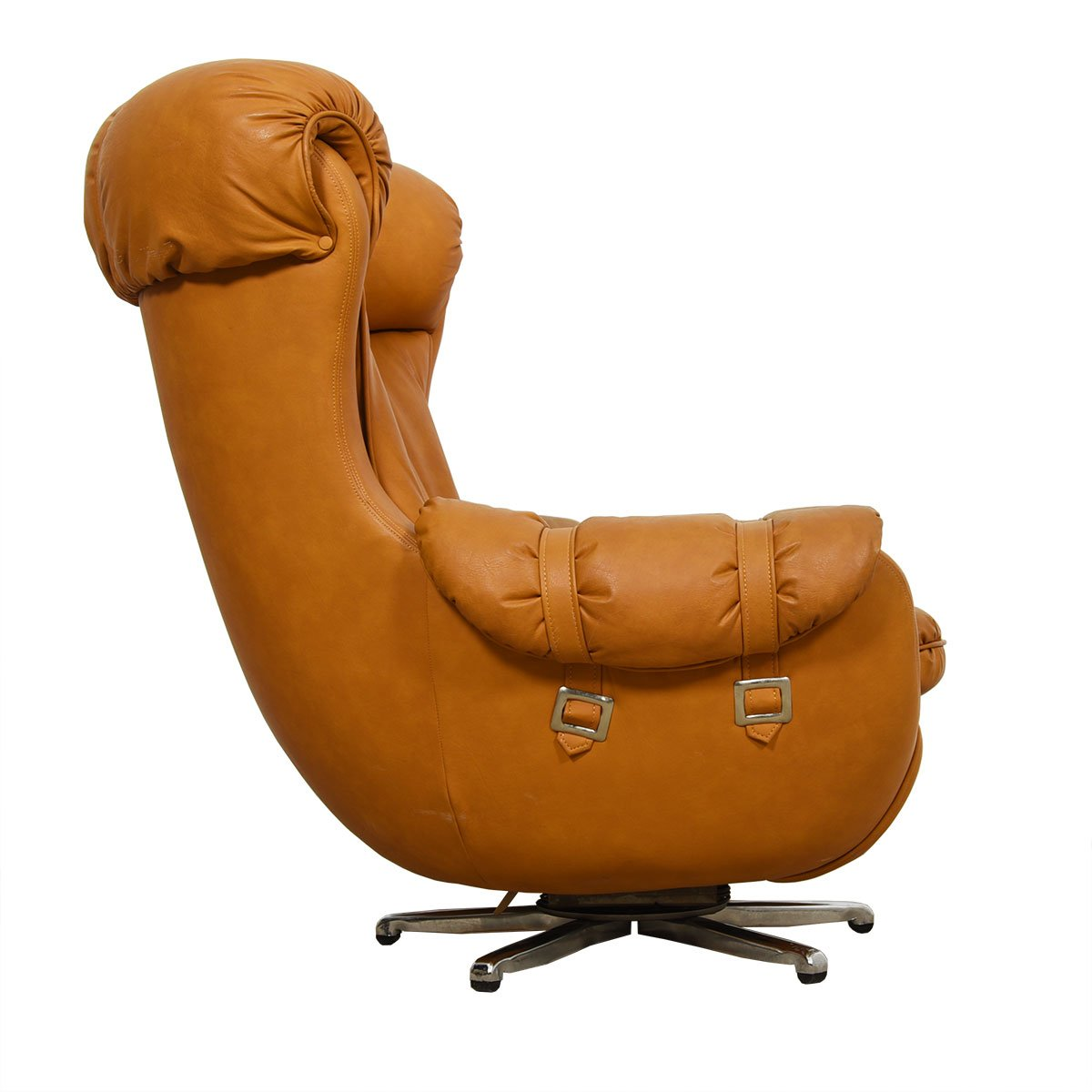The Marshmallow — Swivel & Reclining Lounge Chair w/ Ottoman
