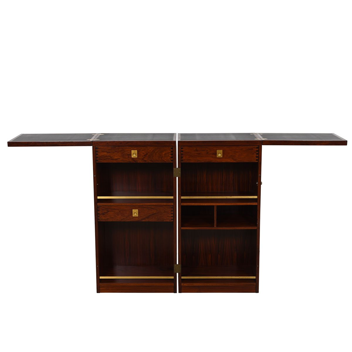 Rosewood Expanding 'Book Bar' / Storage Cabinet by Dyrlund
