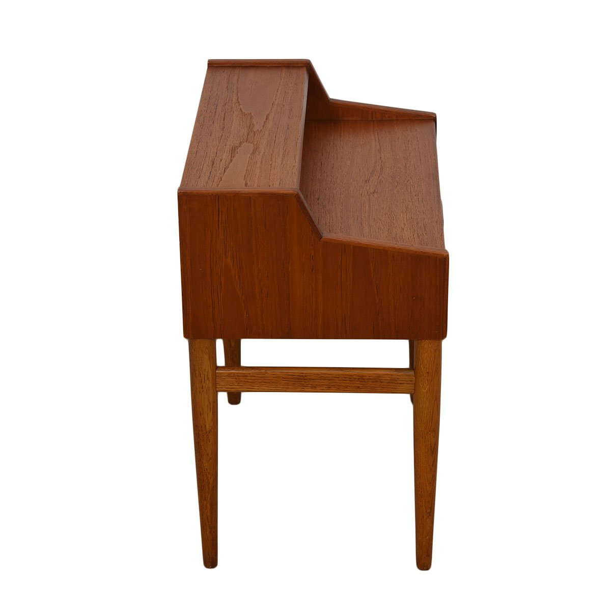 Rare Pair of Arne Hovmand-Olsen for Mogens Kold Teak Nightstands
