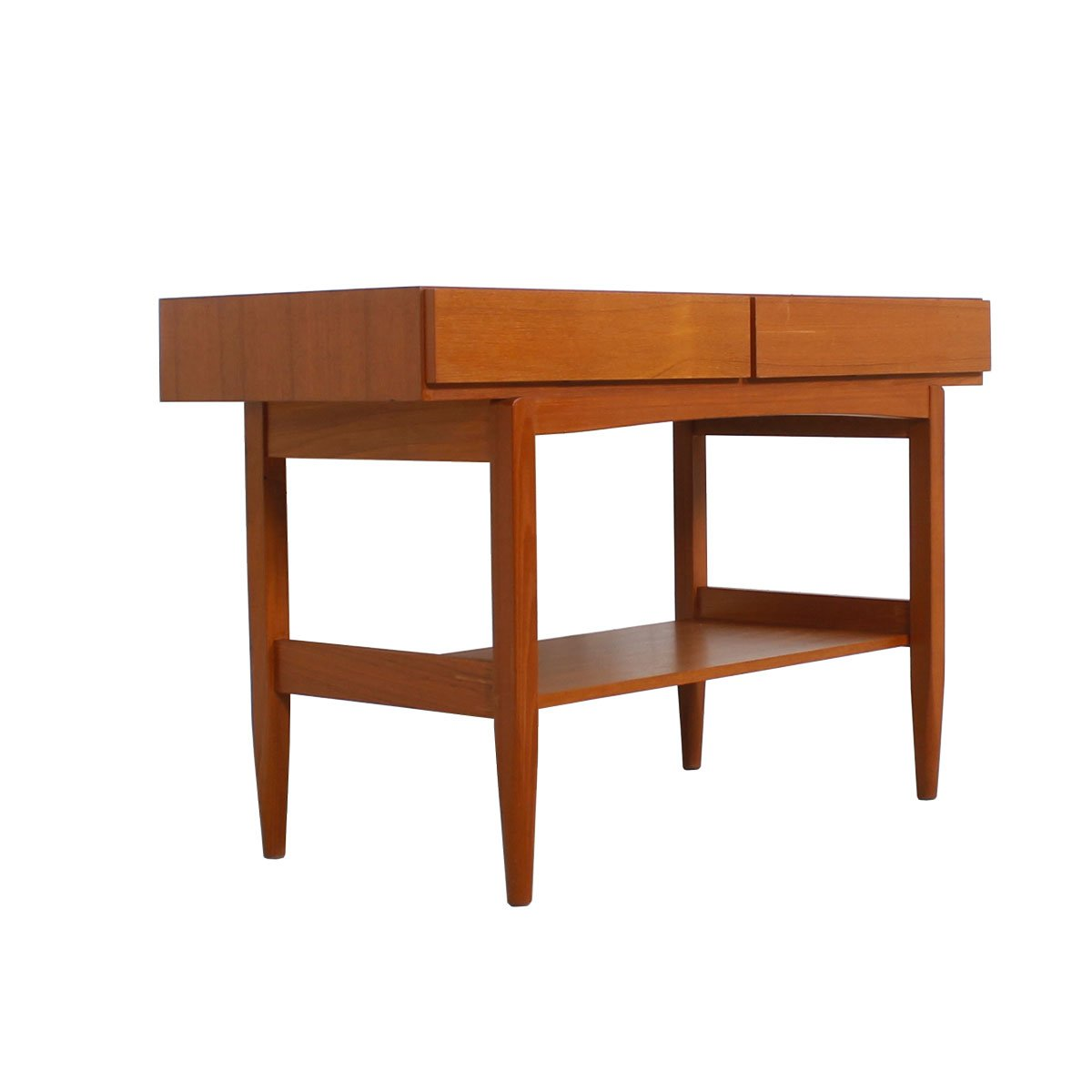 Ib Kofod Larsen Danish Teak Console / Sofa Table