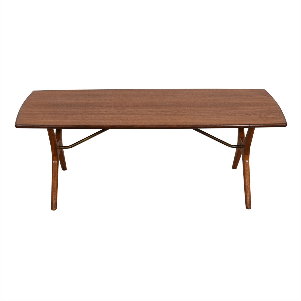 Dux Swedish Modern Compact Coffee Table