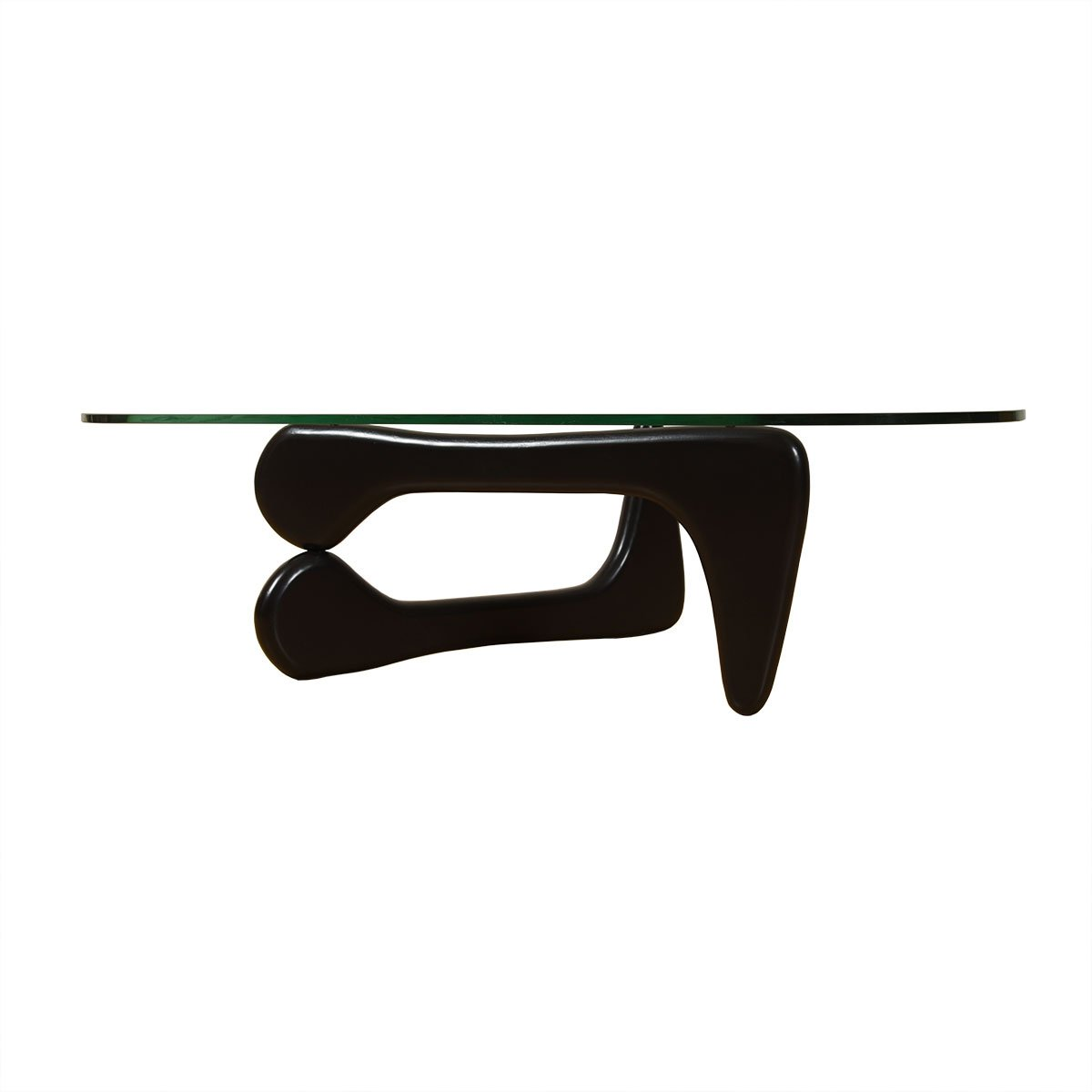 Noguchi Coffee Table with Glass Top