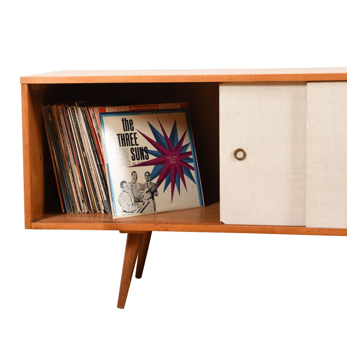 Paul McCobb Planner Group Low Credenza / Record Cabinet