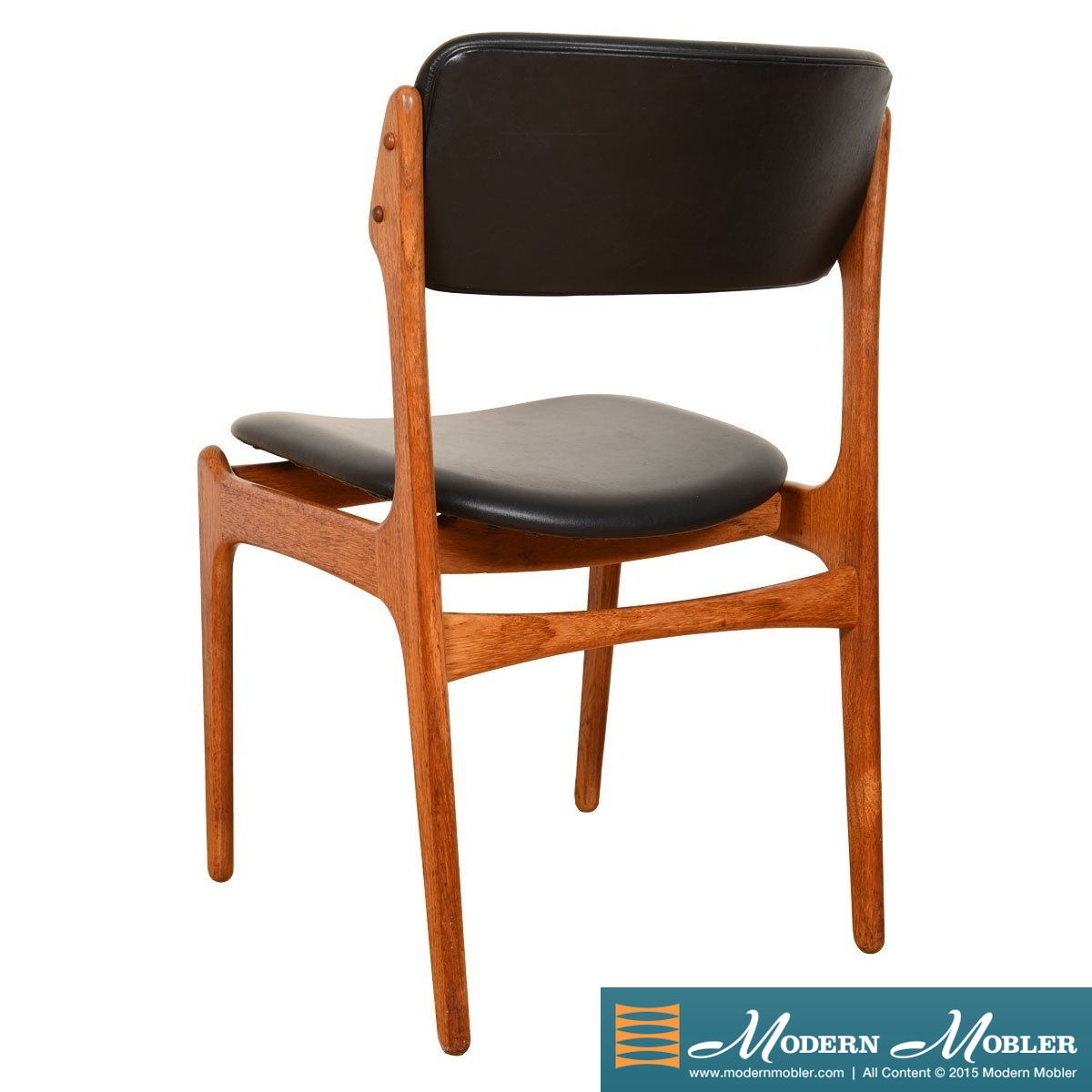Set of 8 Erik Buch Danish Modern Teak Dining Chairs