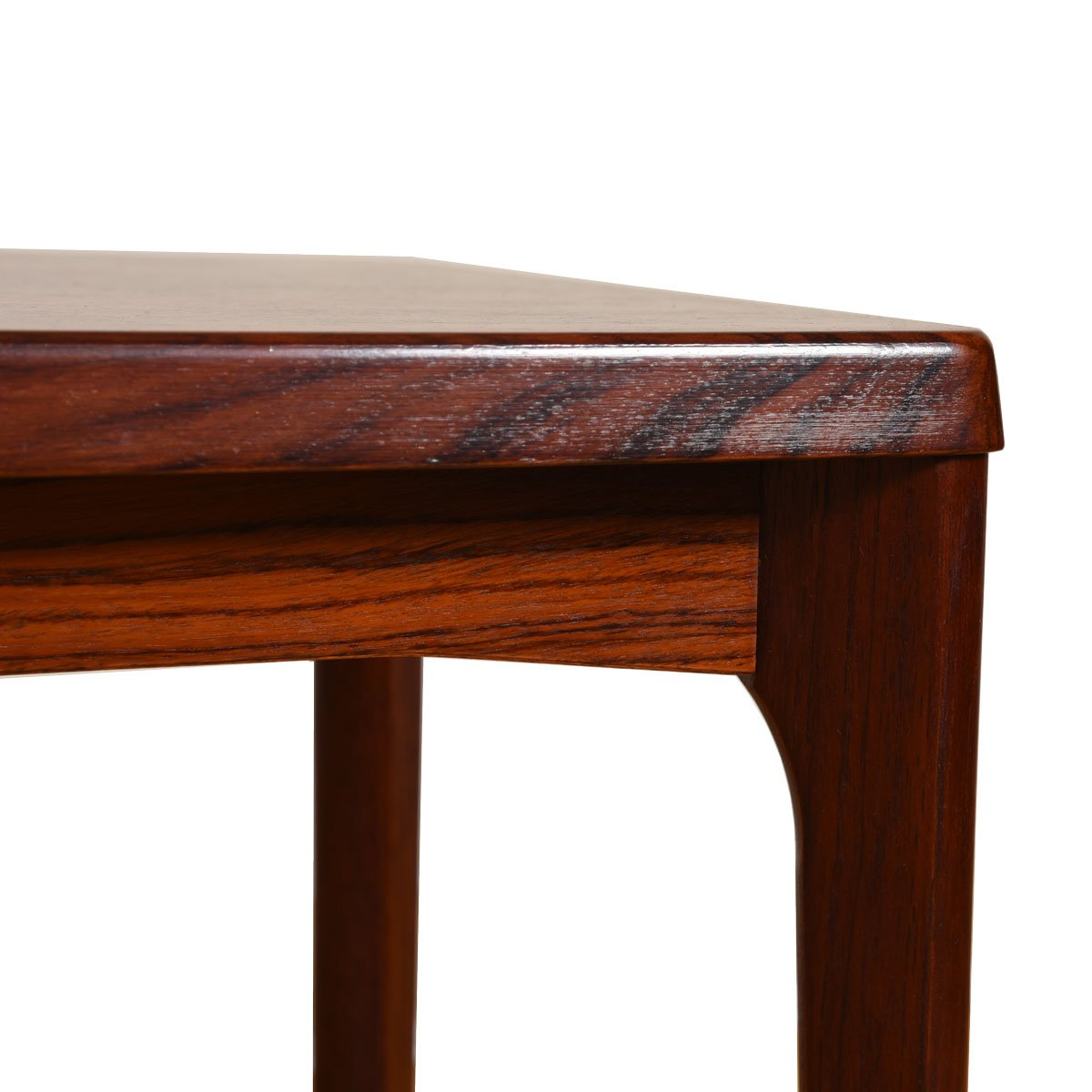 Tall Danish Modern Rosewood End / Coffee Table