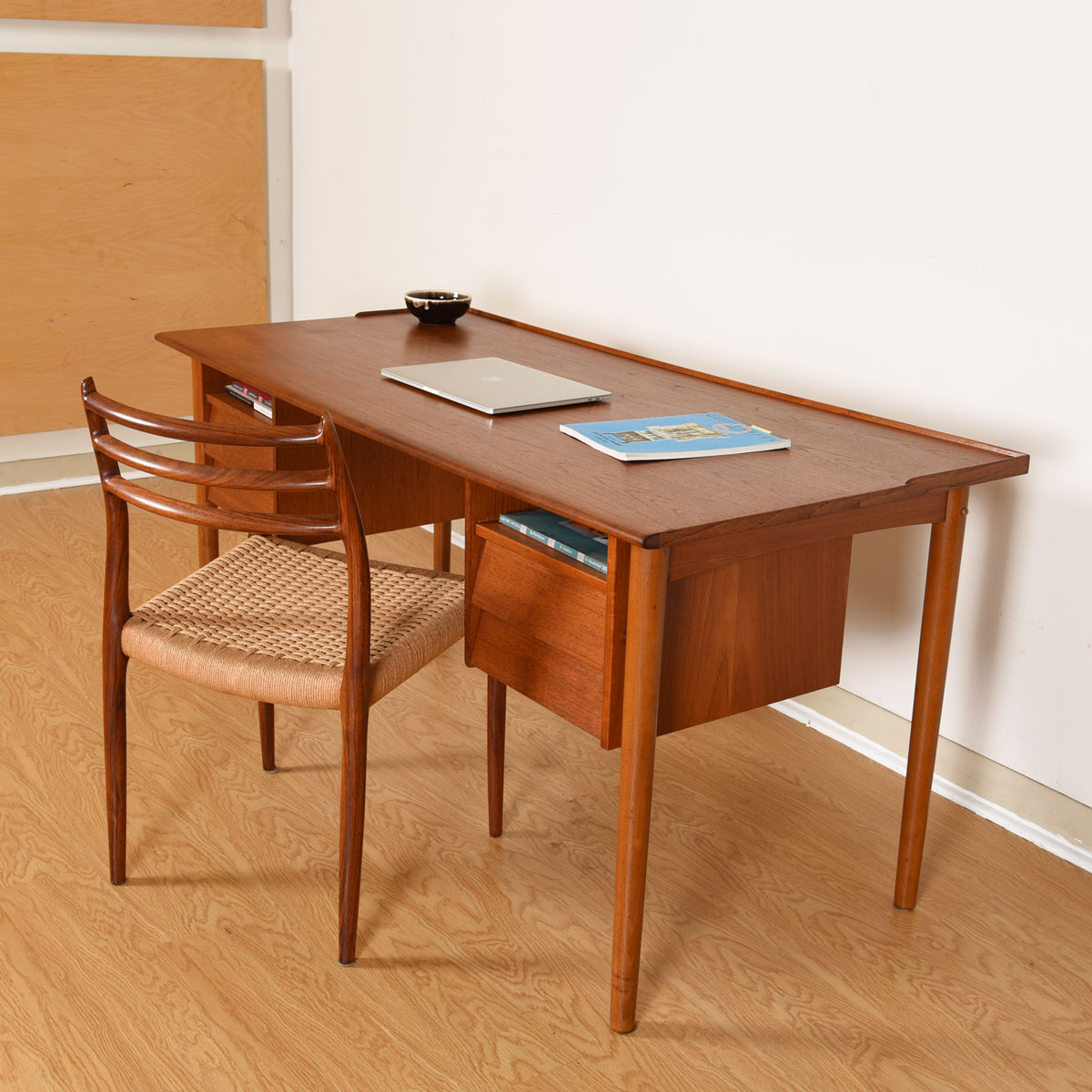 Swedish Modern Teak Writing Desk