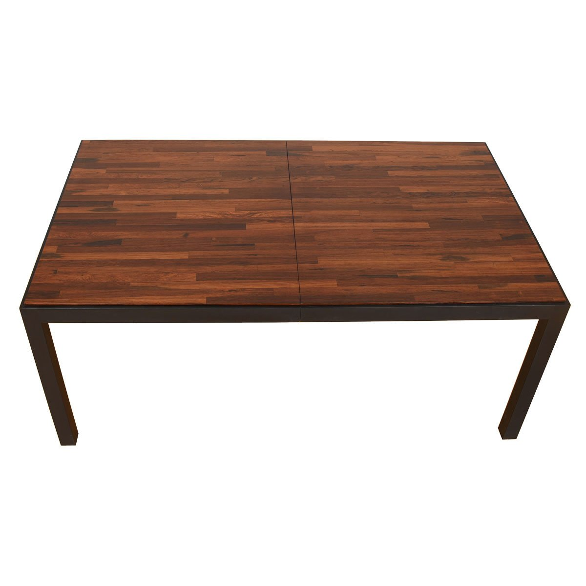 Large Expanding Danish Modern Rosewood Dining Table