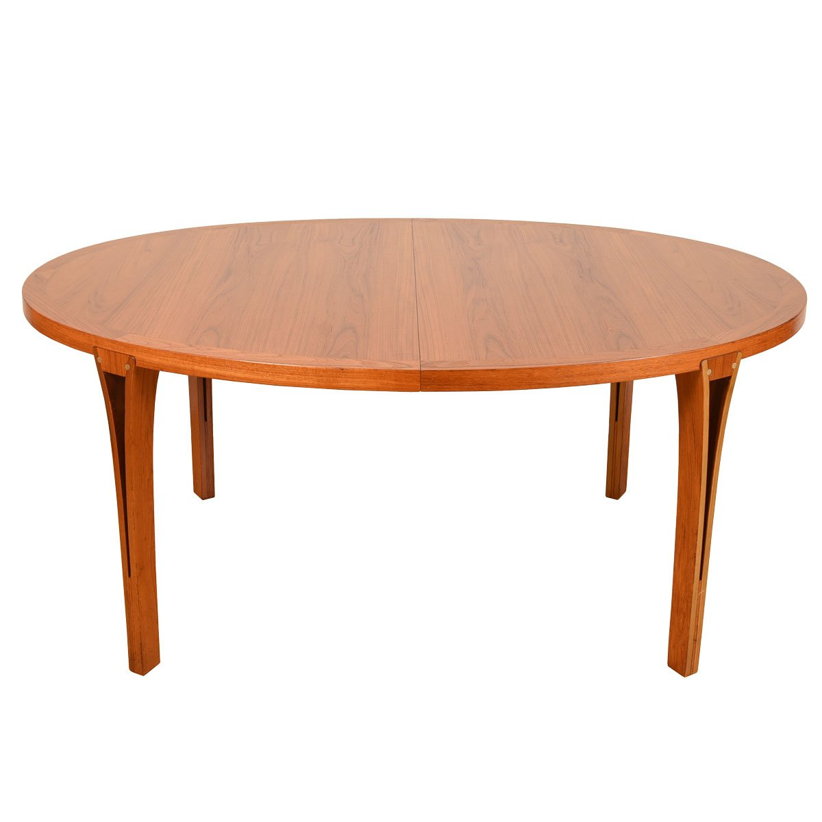 Danish Modern Oval Teak Dining Table