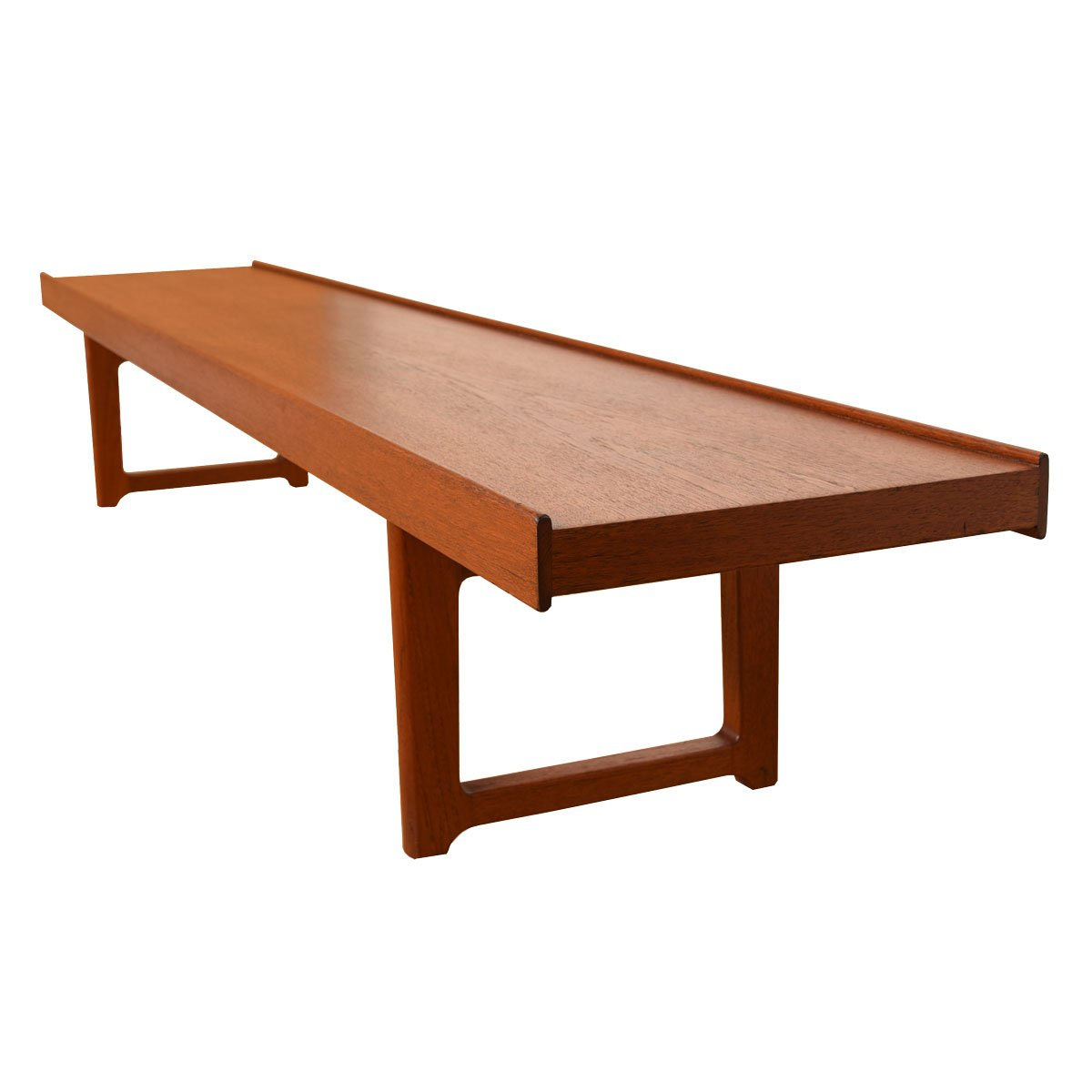 Danish Modern Teak Torbjorn Afdal Bruksbo Long Bench / Coffee Table