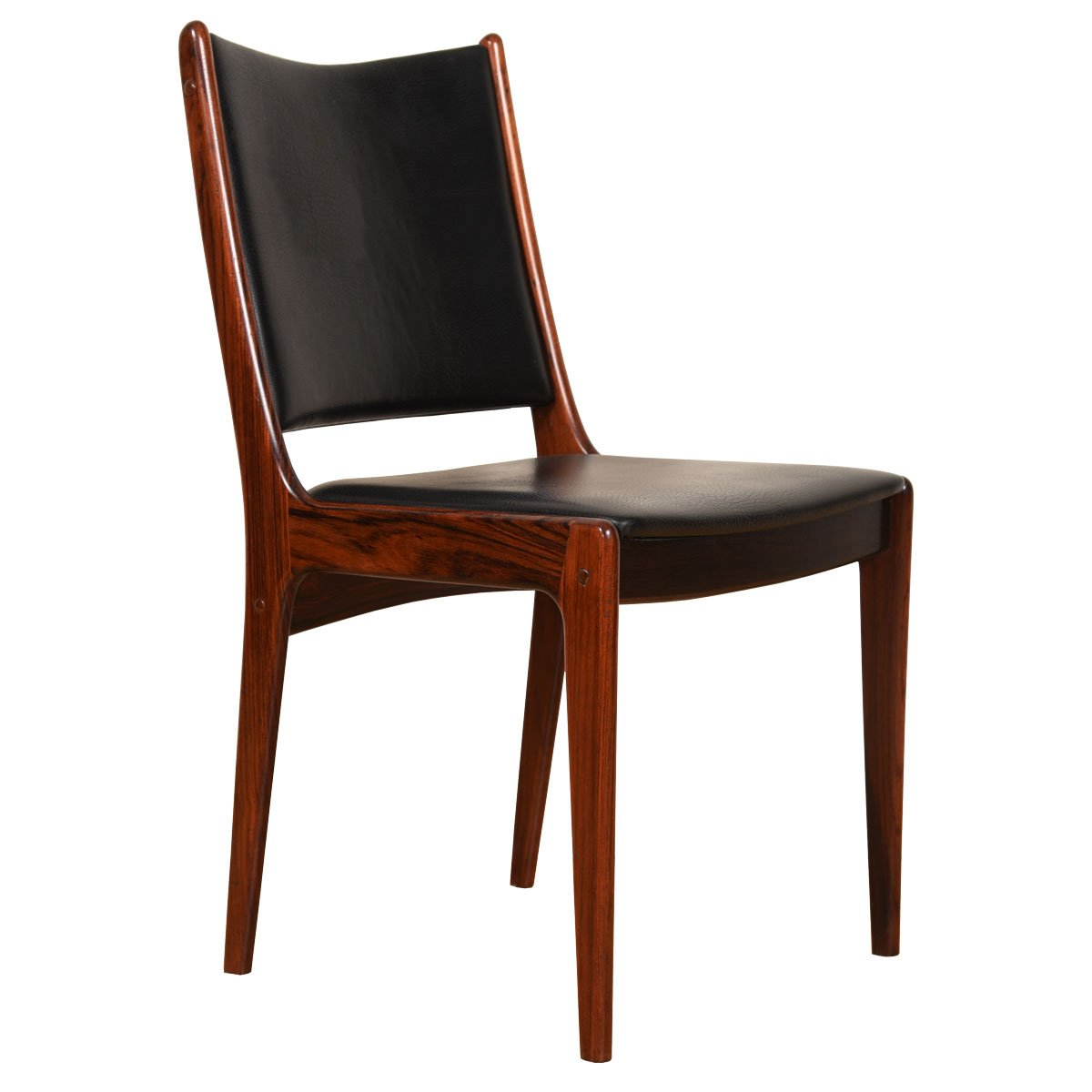 Set of 6 Danish Modern Rosewood Dining Chairs
