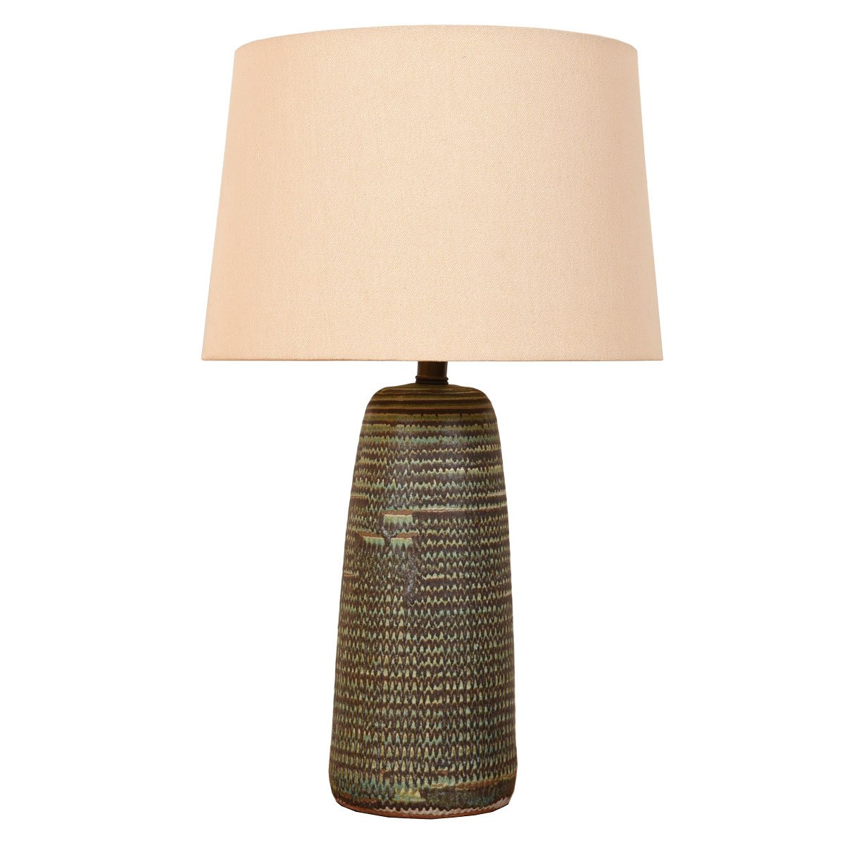 Italian Pottery Table Lamp