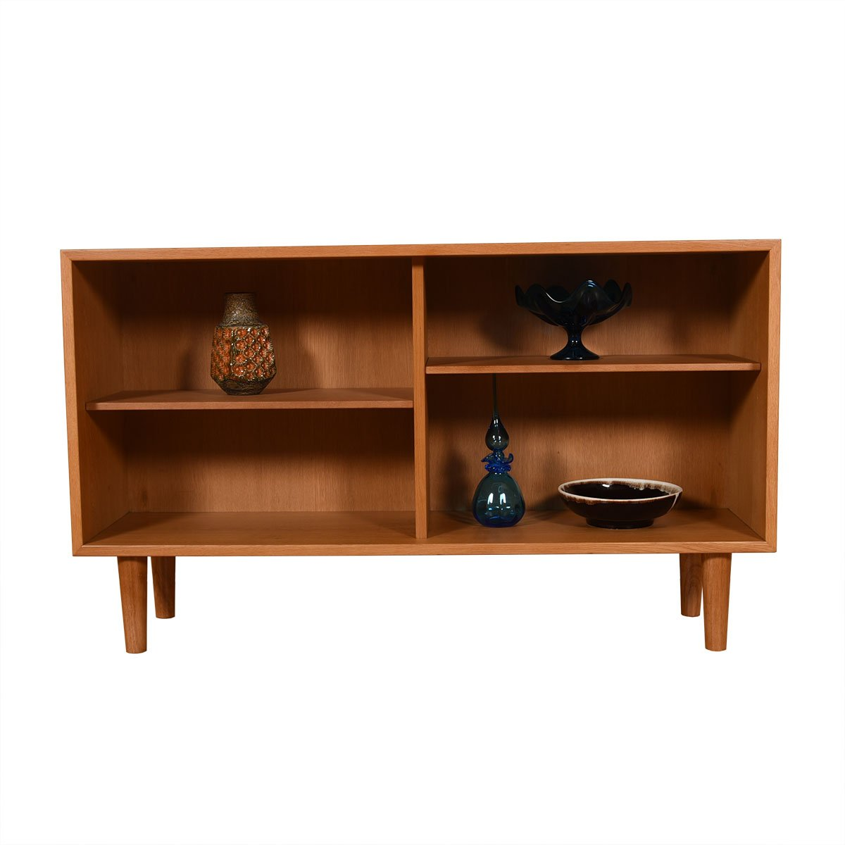 14.25″ Deep Borge Mogensen Oak Open Bookcase for Karl Anderssons