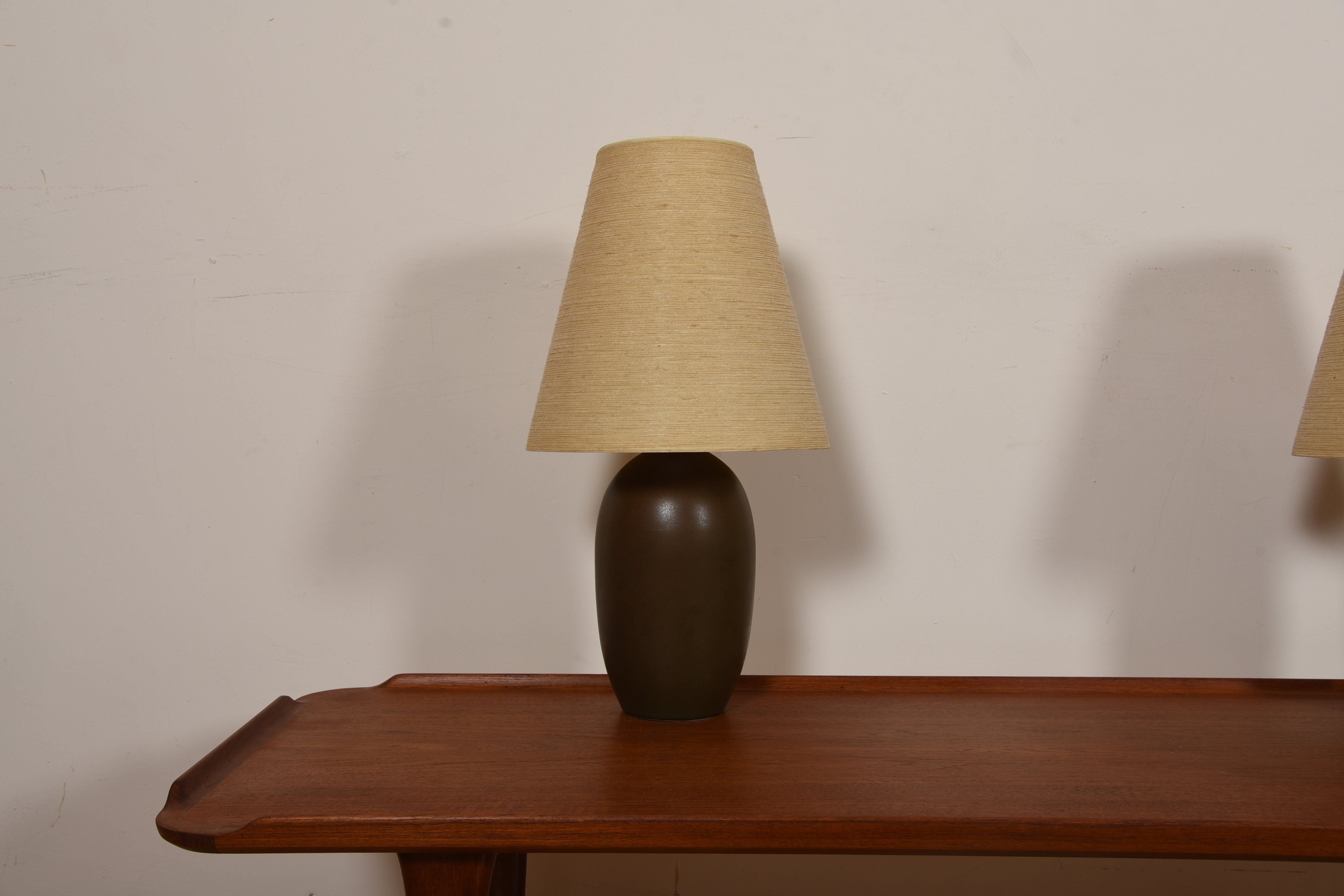 Pair of Bostlund Lamps