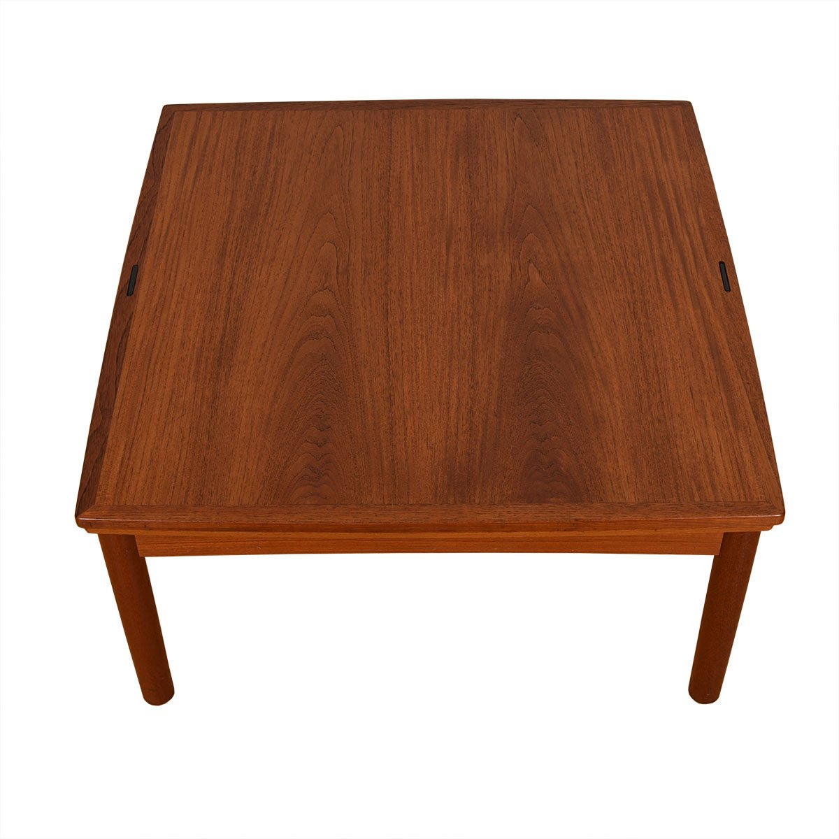 Danish Modern Teak Expanding Flip-Top Coffee Table