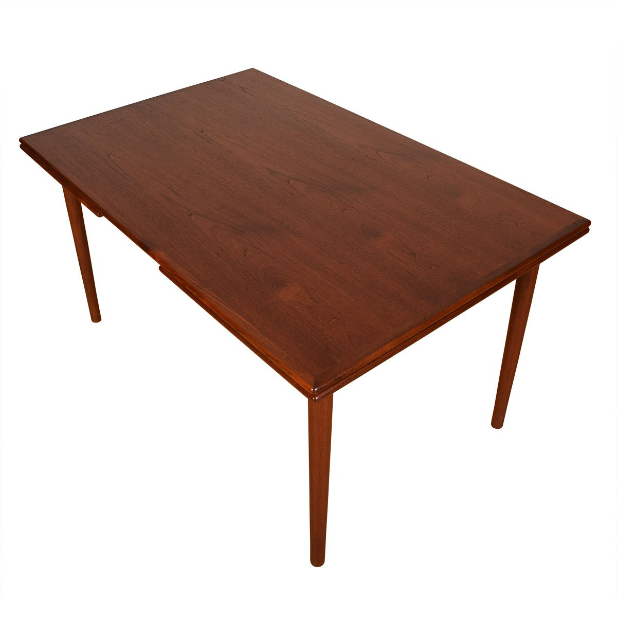 Danish Teak Modern Expanding Dining Table