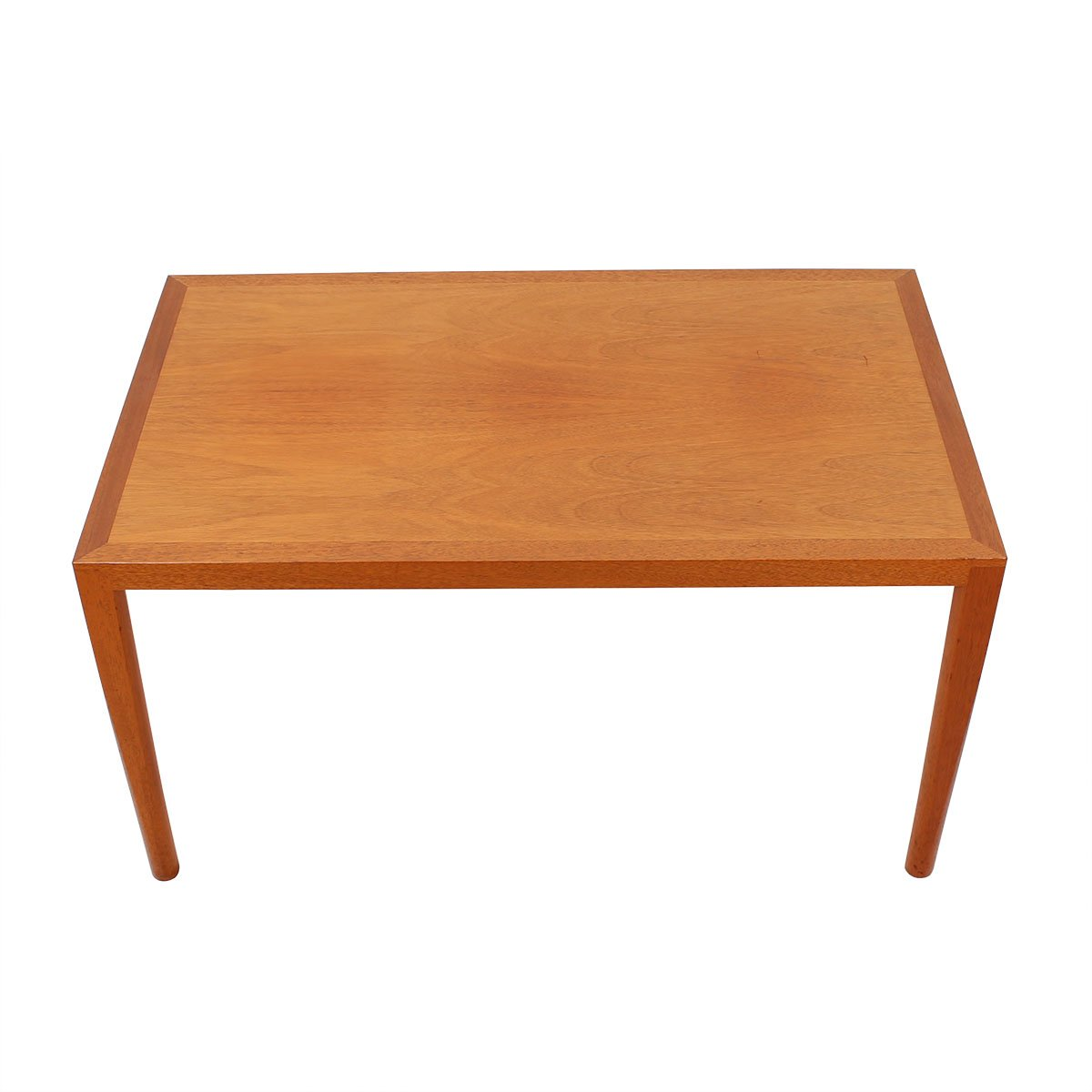 Danish Mid Century Tall Rectangular Coffee Table