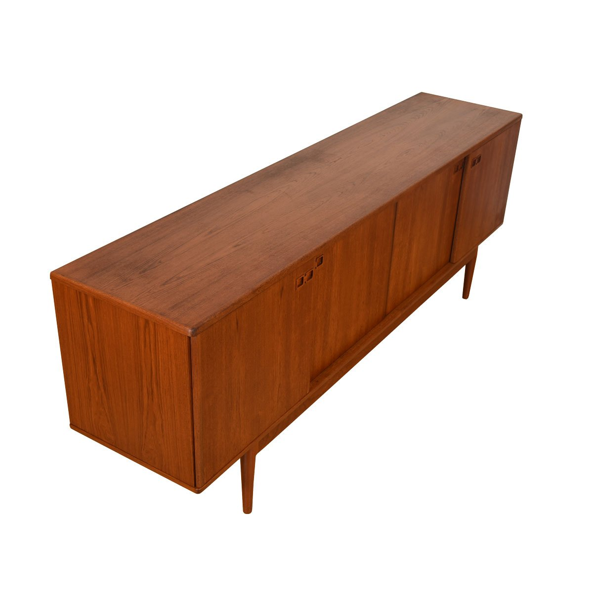 Kai Kristiansen Long & Sleek Danish Modern Teak Sideboard