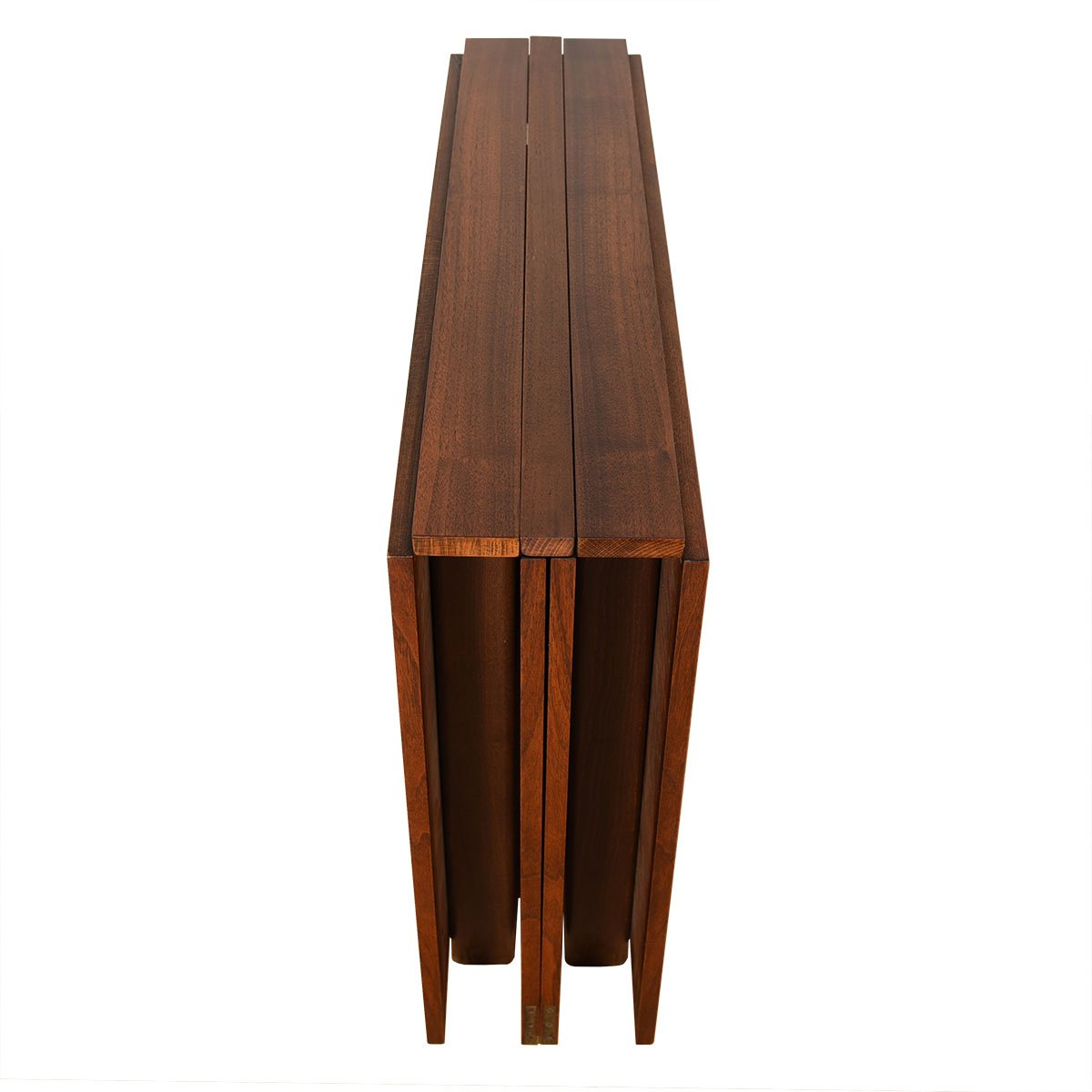 Iconic Super Expanding 'Maria Flap' Swedish Rosewood Dining Table