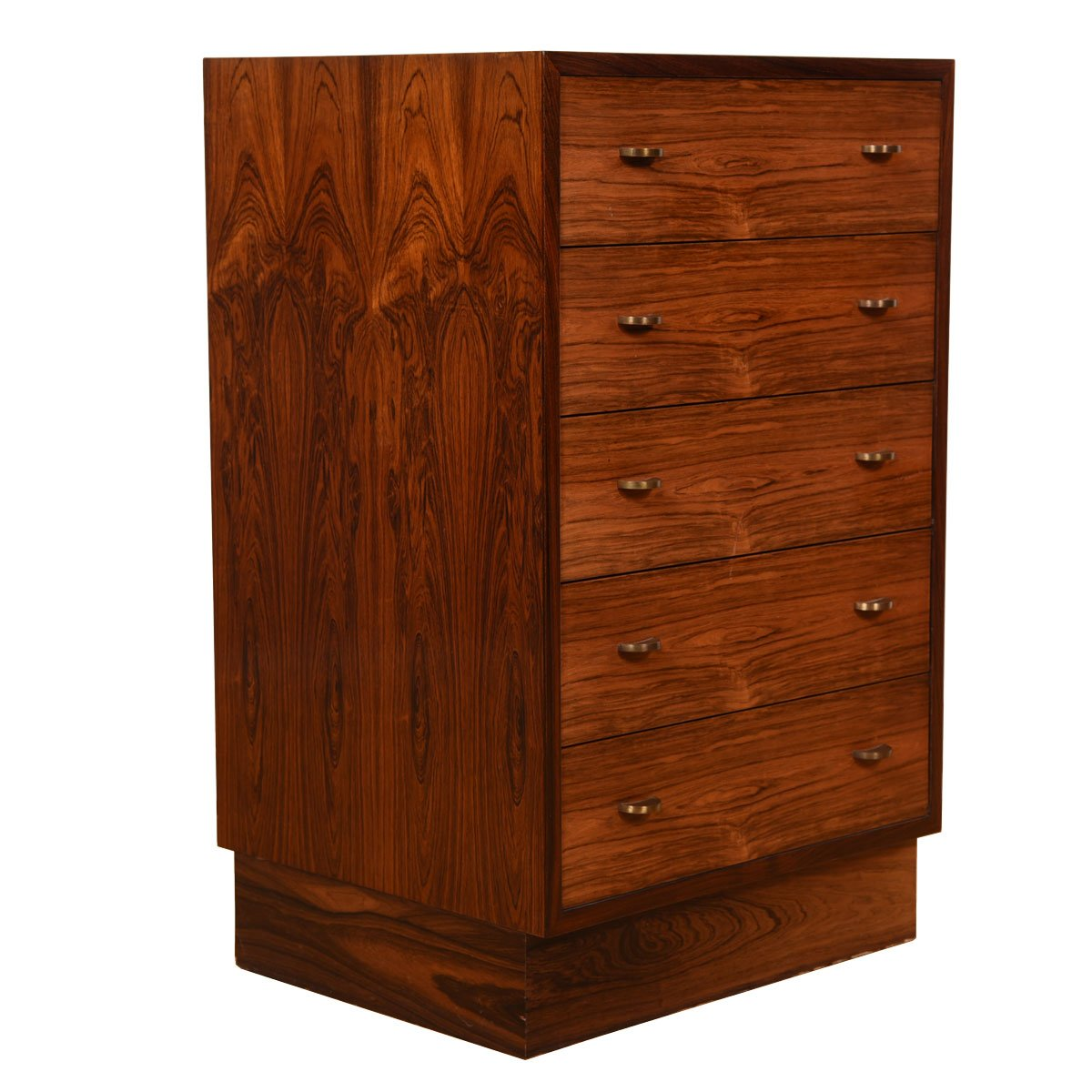 Danish Modern Rosewood Petite Chest of Drawers