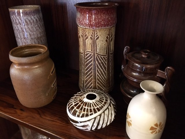 A Selection of American and European Art Pottery
