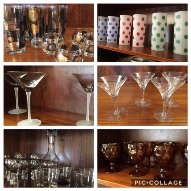 MCM Glasses and Barware