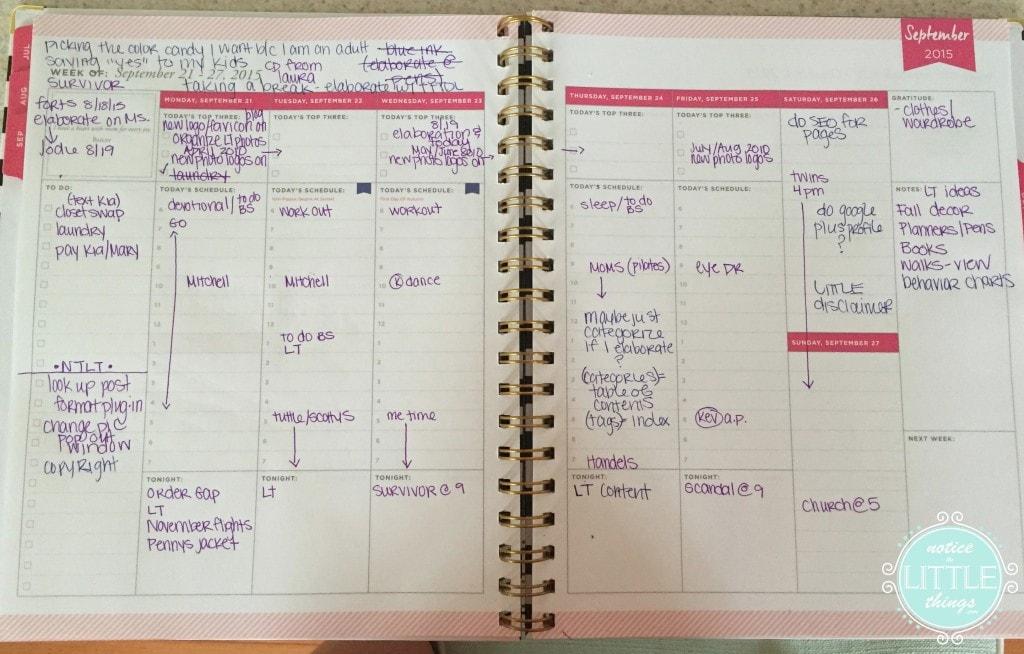 planner mess