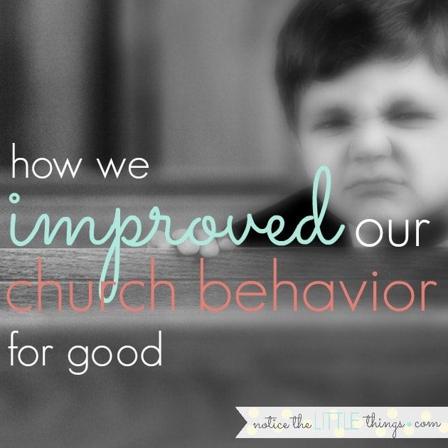 we used this simple chart to improve our kids' church behavior. before the chart, they were loud. and they moved a lot. this easy behavior chart with pictures helped them understand our behavior expectations and gave them a good incentive to follow along.