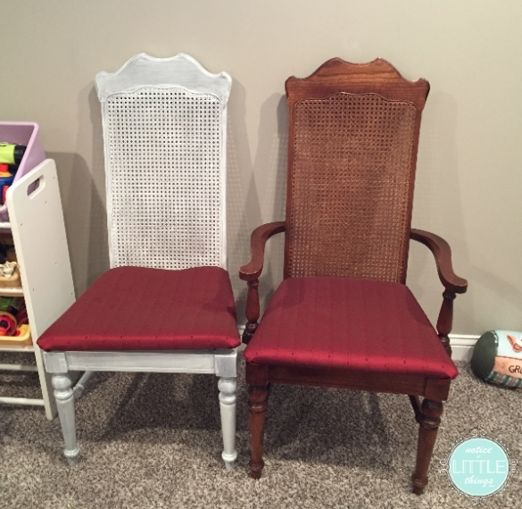 dining table chairs b and a