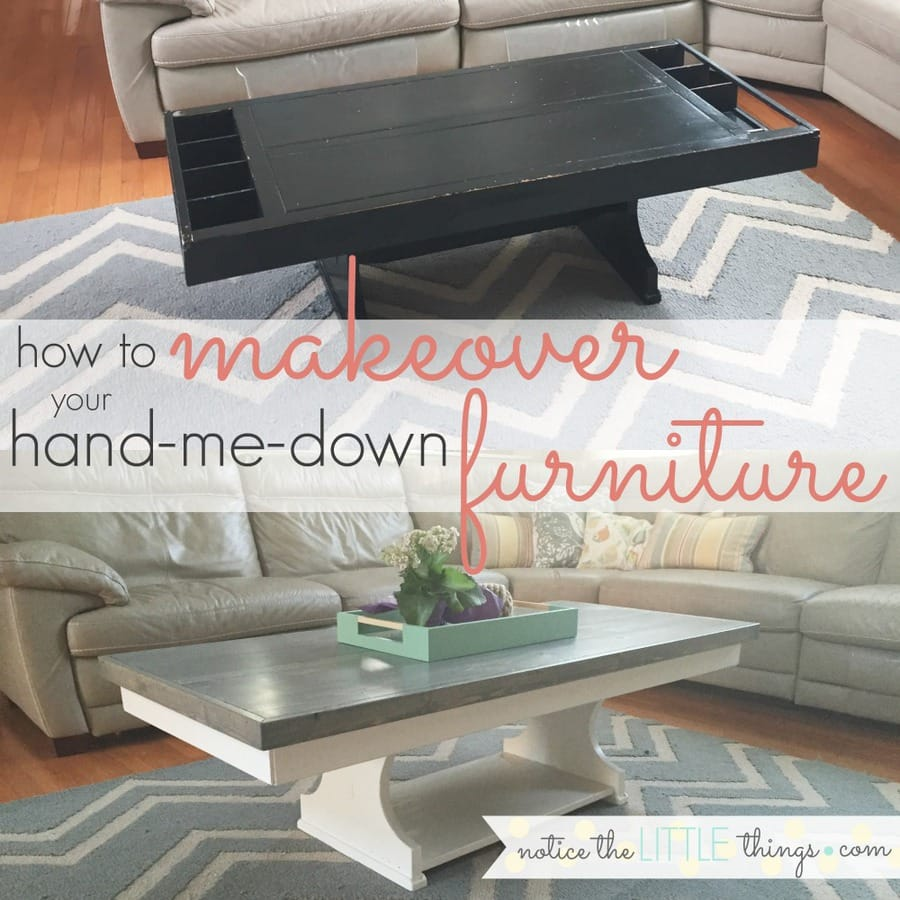 repaint old furniture and make furniture pieces look brand new with this easy, durable method to paint any type of furniture. #paintingfurniture #howtopaintfurniture #refinishingfurniture #makingoldfurniturelooknew #paintedfurniture #chippyfurniture #distressingfurniture #paintedtable #paintedcoffeetable #howtopaintchairs #coffeetablemakeover #kitchentablemakeover #creatinganewtopforatable #diyfurniturepainting #easywaystopaintfurniture #howtopaintfurniturewithoutbrushstrokes #bestpainttouseonfurniture #bestwaytosealpaintedfurniture