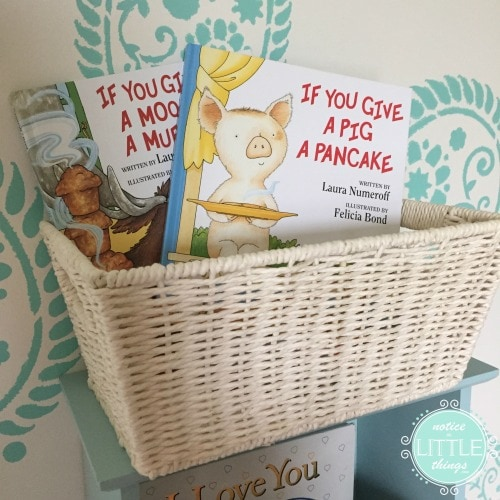 teachers gift books basket