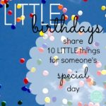 notice the LITTLE things september 4th