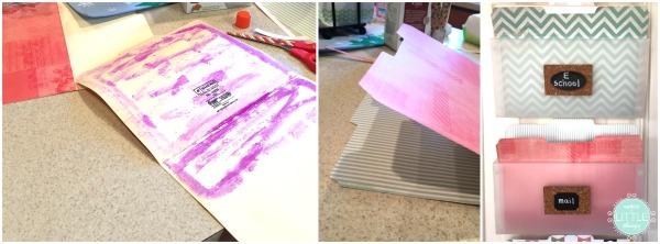 decluttering paper