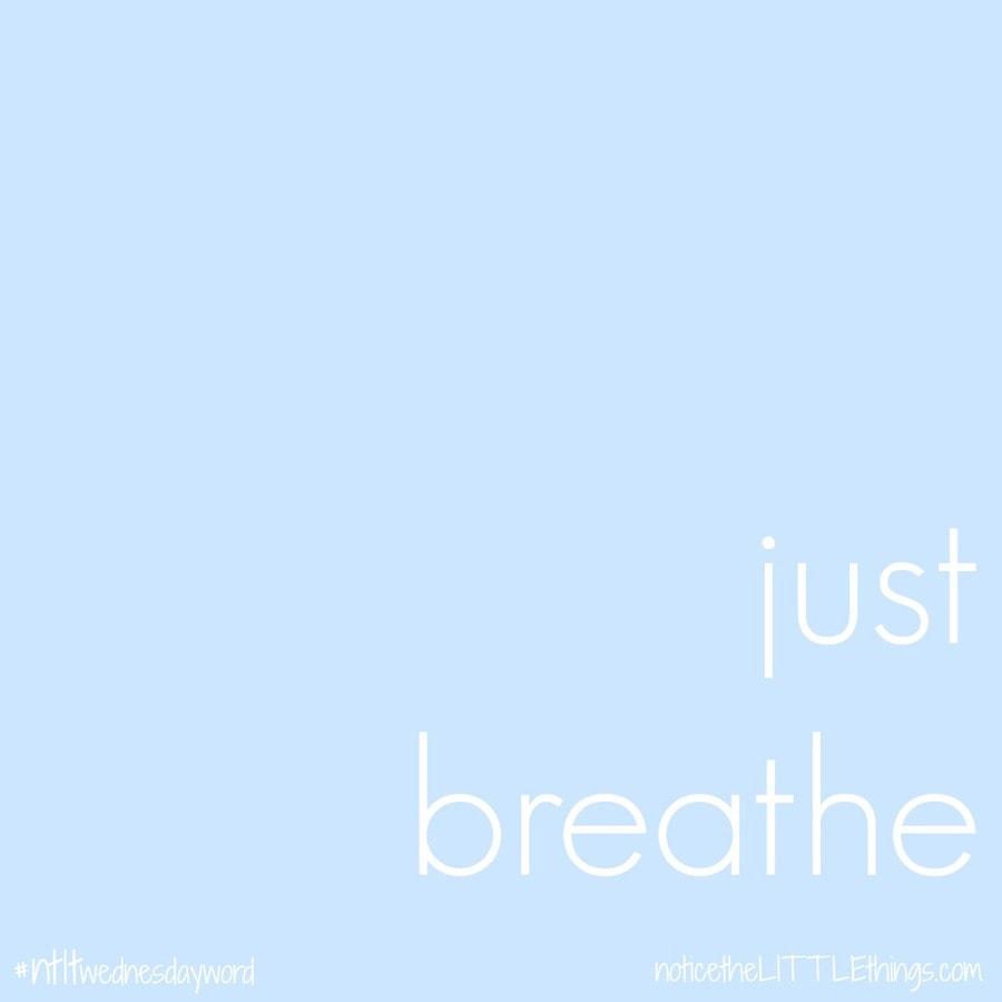 just breathe quote