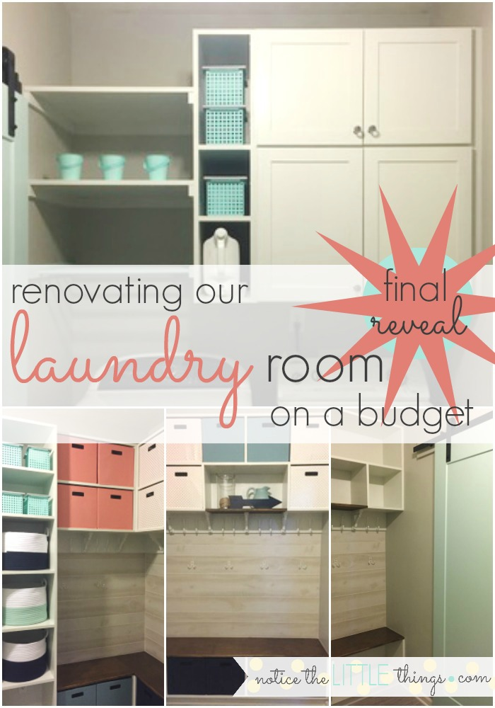renovated laundry room