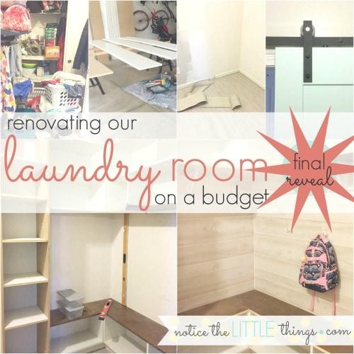 renovated laundry room