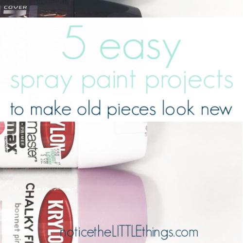 spray paint project ideas