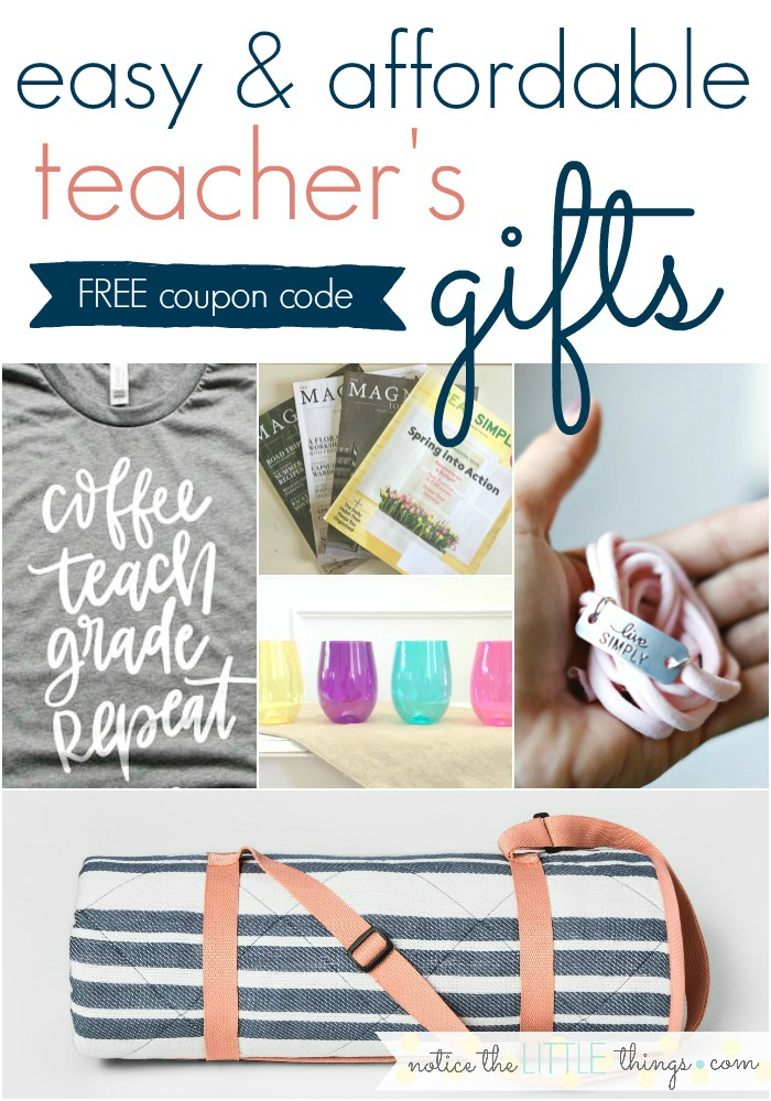 teacher's gift ideas