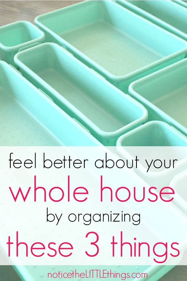whole house organization tips