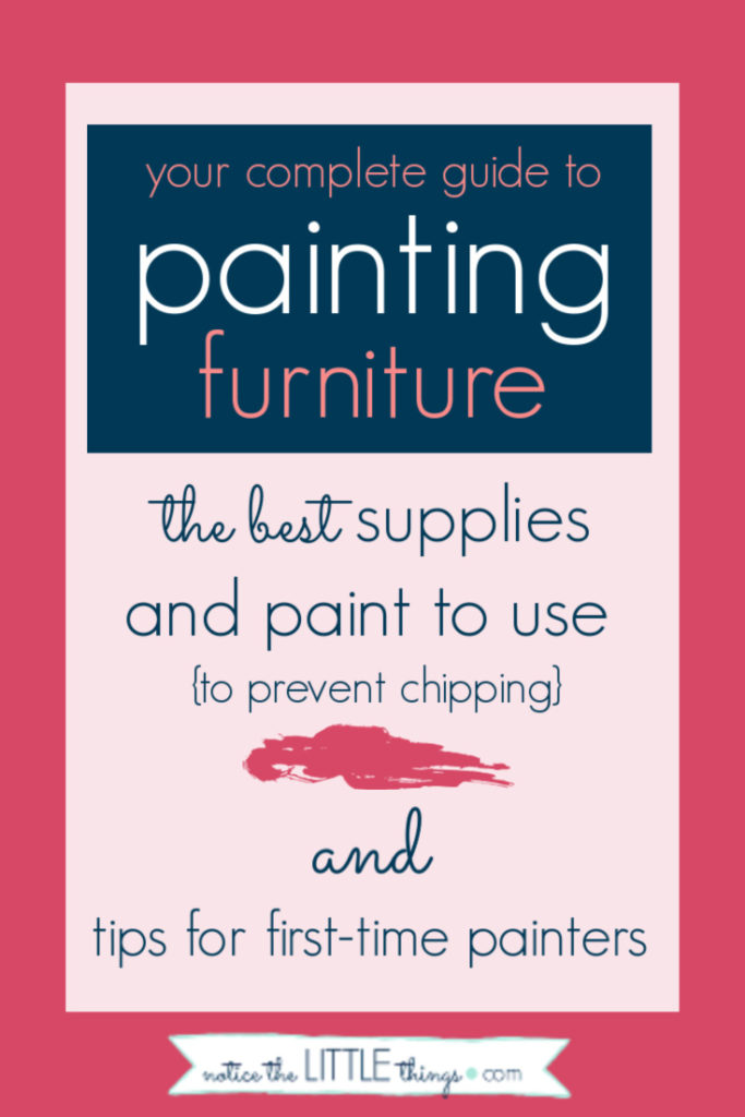 a complete guide to painting furniture of all kinds