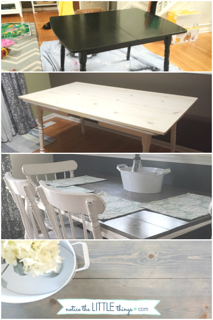 DIY farmhouse style table