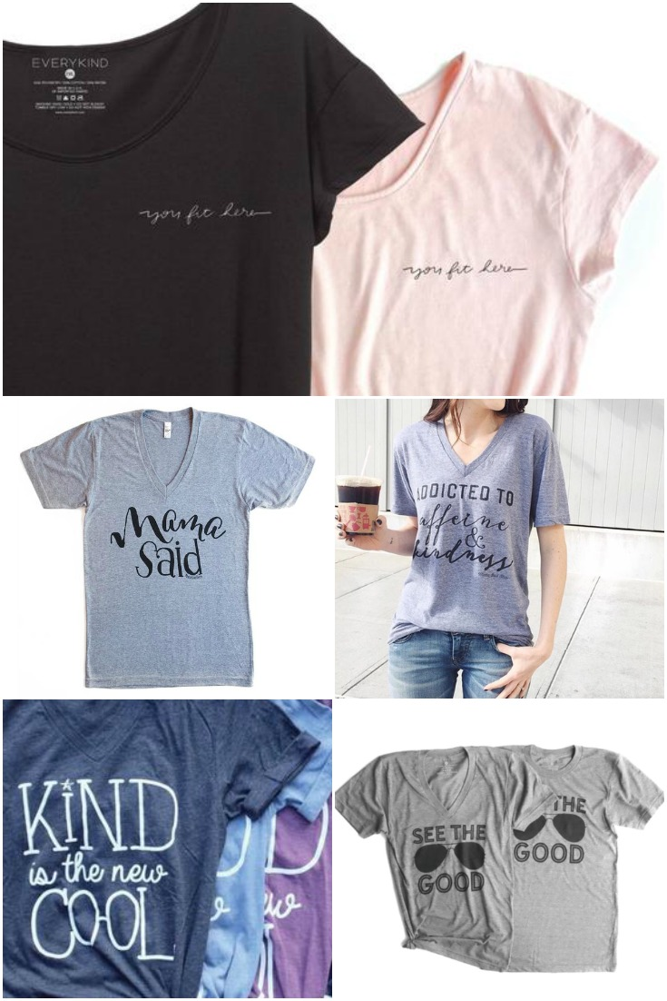 everykind graphic t shirts