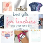 best gifts for teachers {and what not to buy}