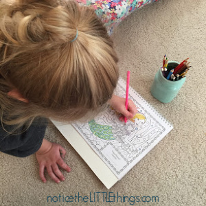 mommy and me coloring book