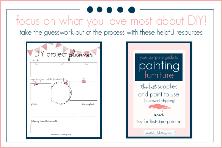 DIY project planner and furniture painting guide