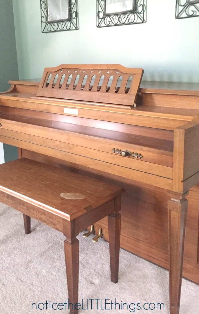 how to paint your piano