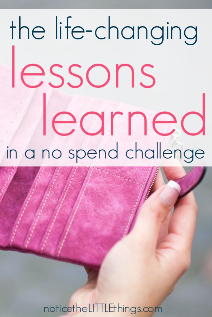 empty women's pink wallet